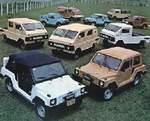 Veículos da Gurgel em 1980